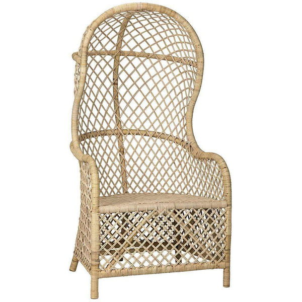 Noir Gigi Rattan Chair
