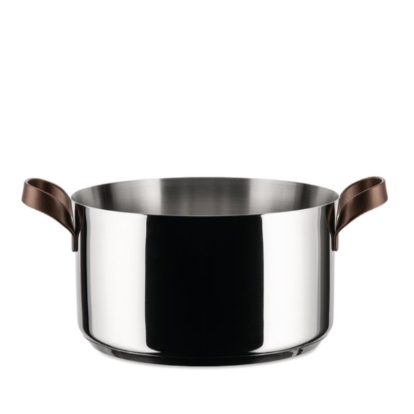 Alessi Alessi Edo Casserole Pot with Handles - Available in 2 Sizes 20cm