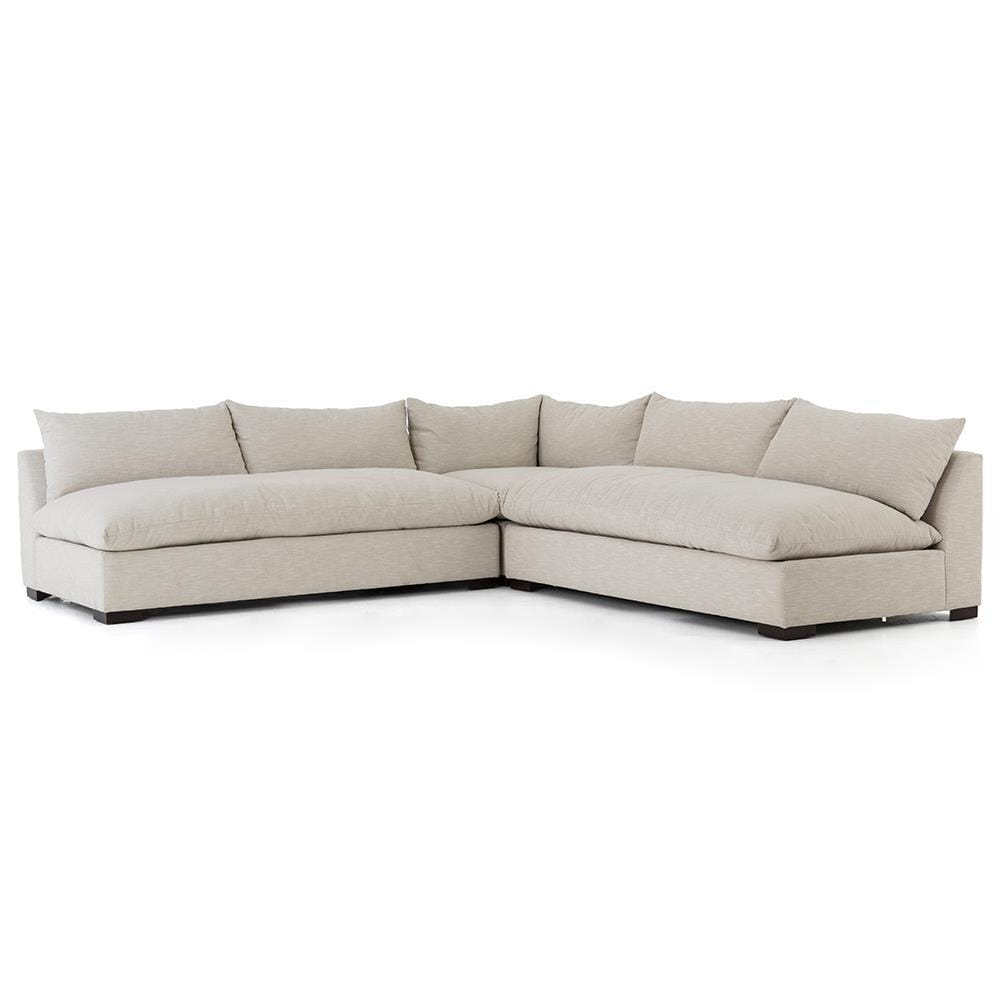 Four Hands Four Hands Grant 3 Piece Sectional - Beige UATR-010-241P