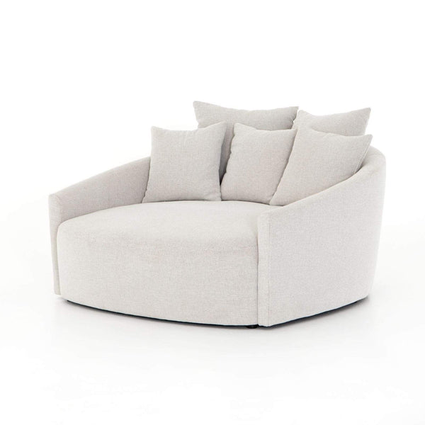 Four Hands Chloe Media Lounger - Grey Concrete | Alchemy Fine Home