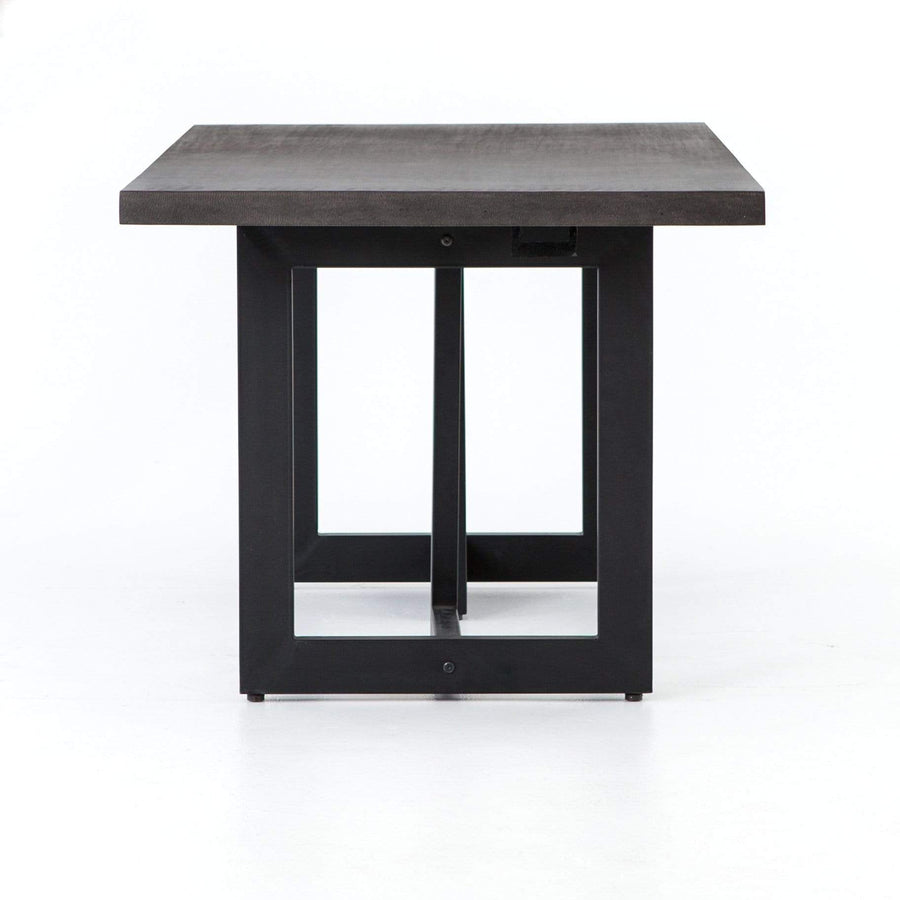 Four Hands Judith Outdoor Dining Table - Black | Alchemy Fine Home