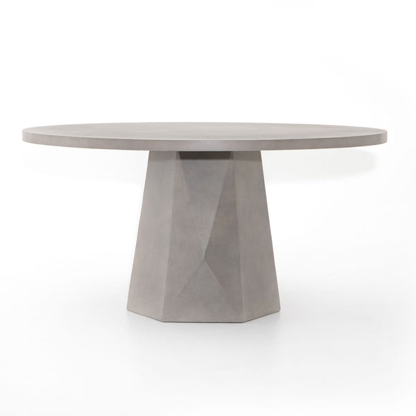 Four Hands Bowman Outdoor Dining Table - Grey Concrete | Alchemy Fine Home