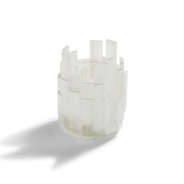 Tozai Home Selenite Candleholder | Alchemy Fine Home