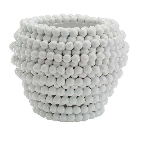 Tozai Home Pompon Vase/Planter | Alchemy Fine Home