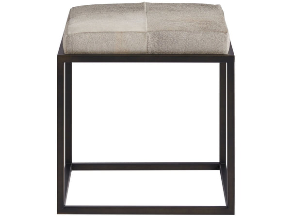 Alchemy Living Alchemy Living Accent Chairs Safari Ottoman - Gray 786591-670
