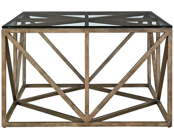 Alchemy Living Alchemy Living Austin Scotty Square Cocktail Table - Brown 572801