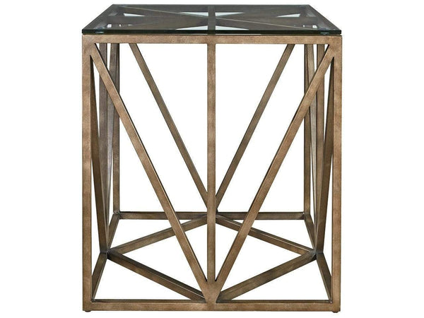 Alchemy Living Alchemy Living Austin Scotty Square End Table - Brown 572802