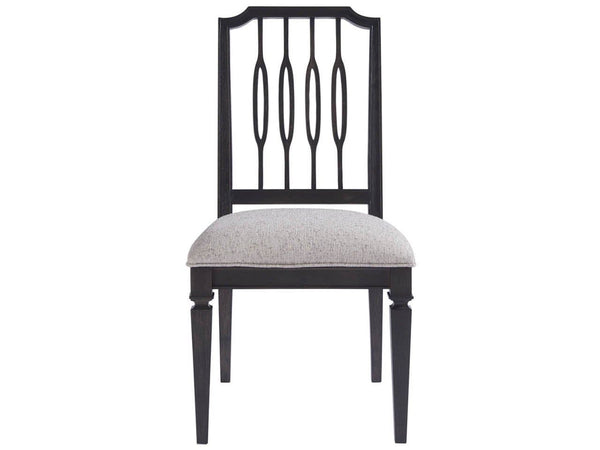 Alchemy Living Alchemy Living Avenue Side Chair Set of Two - Black 805B624P-RTA