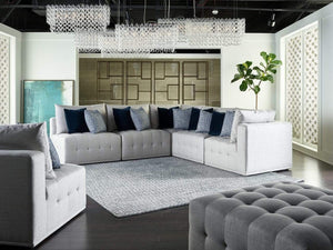 Alchemy Living Alchemy Living Donny 4-Piece Sectional - Gray 898541-889