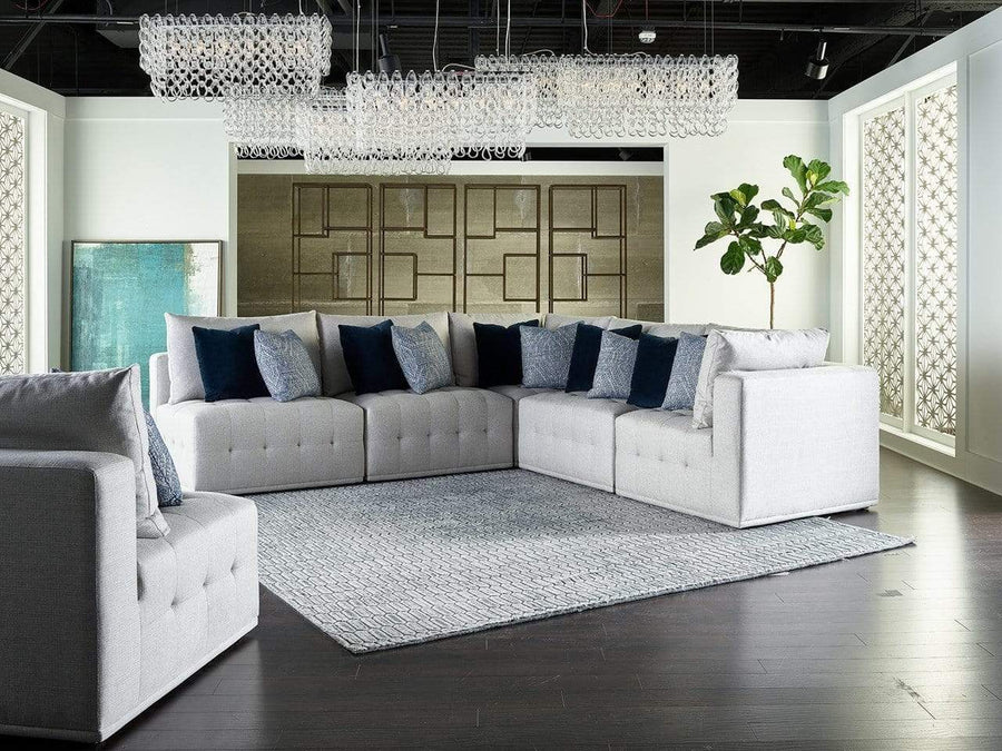Alchemy Living Alchemy Living Donny 5-Piece Sectional - Gray 898551-889