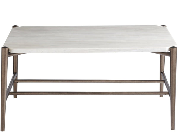 Alchemy Living Alchemy Living Gallery Bruno Cocktail Table - White 915A801