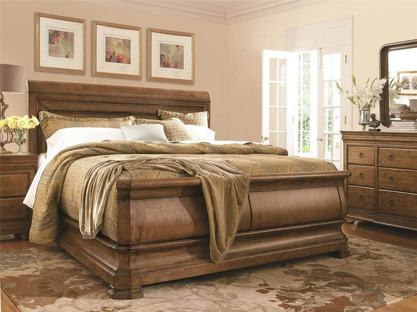 Alchemy Living Alchemy Living Le Rue Harrison Leah Bed Complete Queen - Brown 07175B