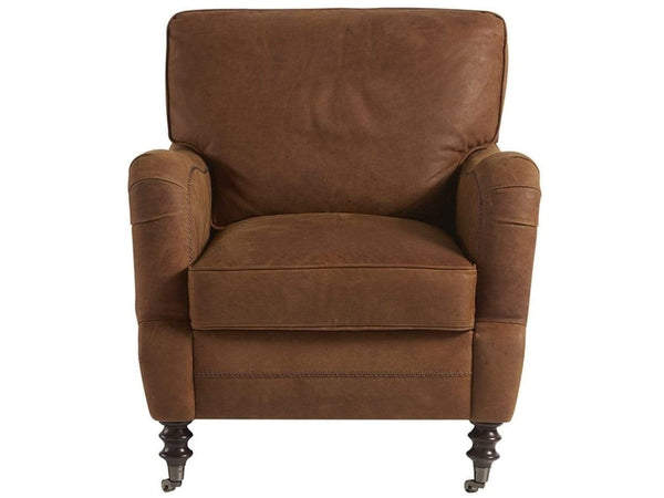 Alchemy Living Alchemy Living Leather Bryan Accent Chair - Brown 682543-706