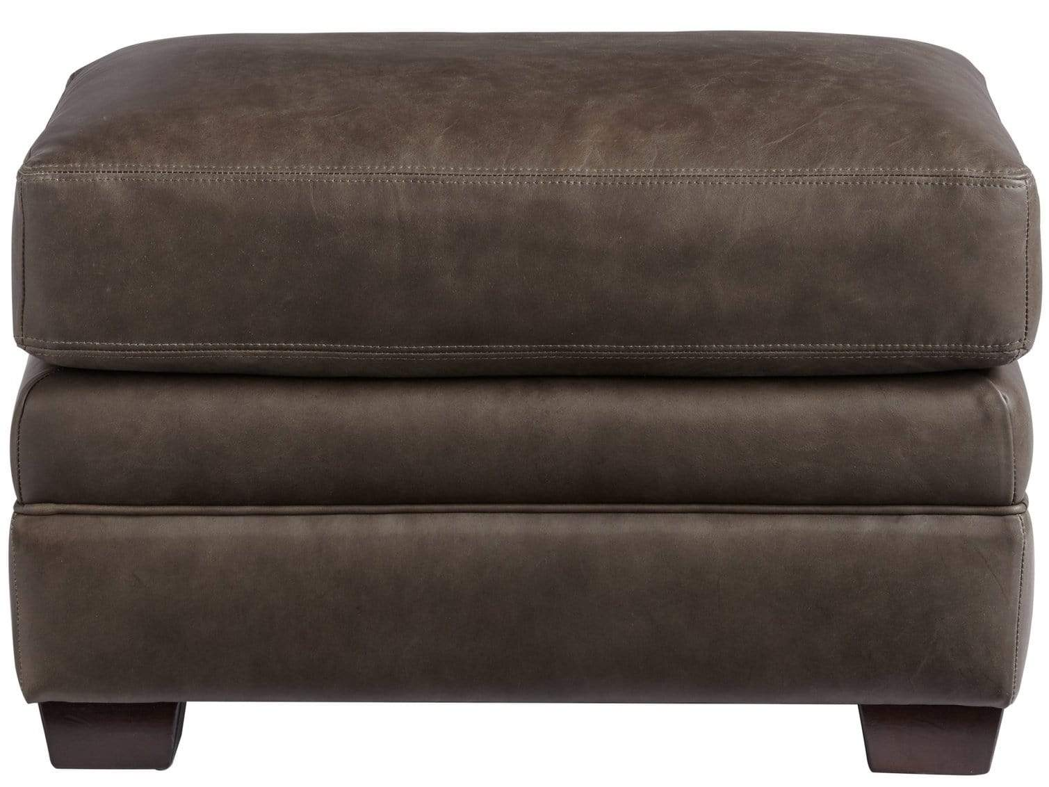 Alchemy Living Alchemy Living Leather - Olly Ottoman - Brown 682554-901-5