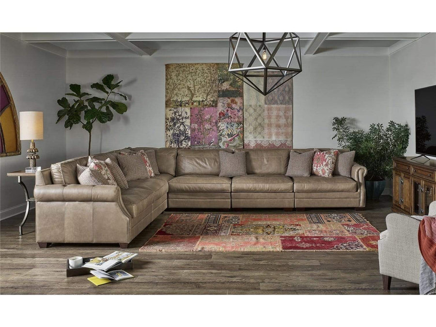 Alchemy Living Alchemy Living Leather - Trent Sectional  - Brown 682560K6-901-1