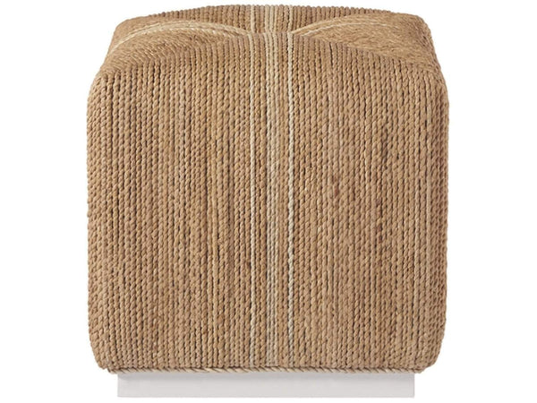 Alchemy Living Alchemy Living Malibu Abaca Cube - Brown 807223