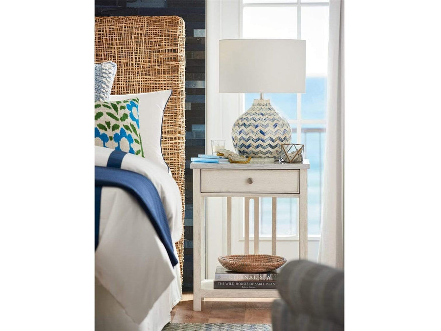 Alchemy Living Alchemy Living Malibu Bedside Table - Ivory 807223