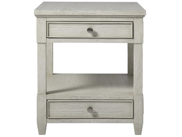 Alchemy Living Alchemy Living Malibu Drawer End Table - Ivory 807223