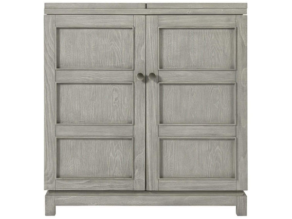 Alchemy Living Alchemy Living Malibu Keys Bar Cabinet - Gray 807223