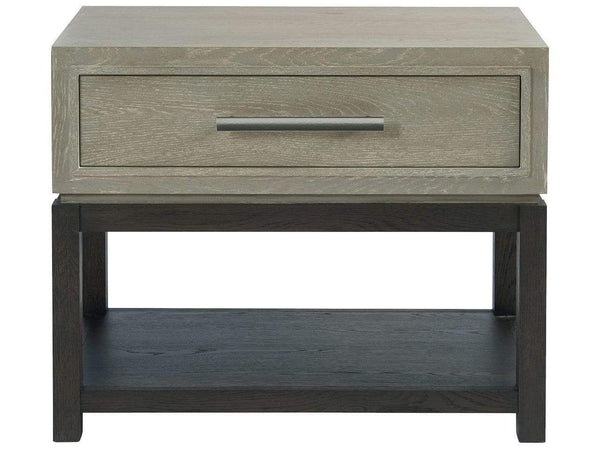 Alchemy Living Alchemy Living Mercury Night Table - Gray 758355