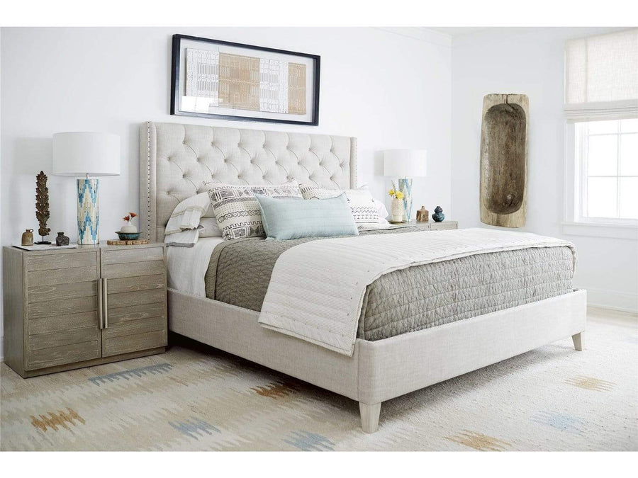 Alchemy Living Alchemy Living Mercury Panache Bed Complete Queen - Ivory 758310B