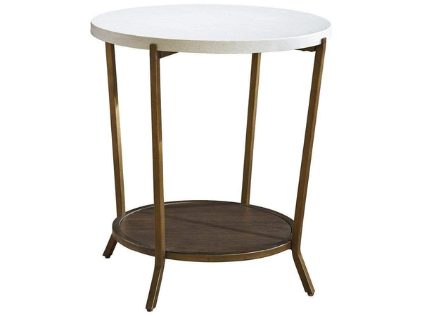 Alchemy Living Alchemy Living Replay Round End Table - Copper 507815