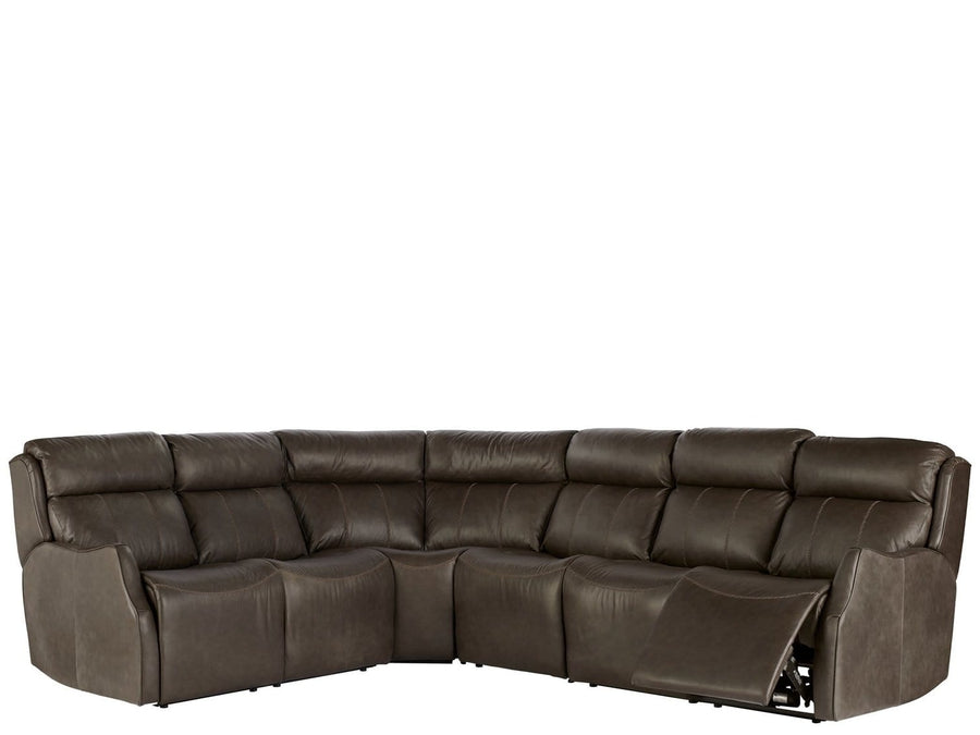 Alchemy Living Alchemy Living Shift Wilson Sectional - Black 950540K4-901-5
