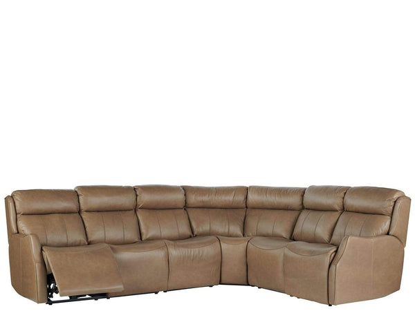 Alchemy Living Alchemy Living Shift Wilson Sectional - Brown 950540K4-901-1