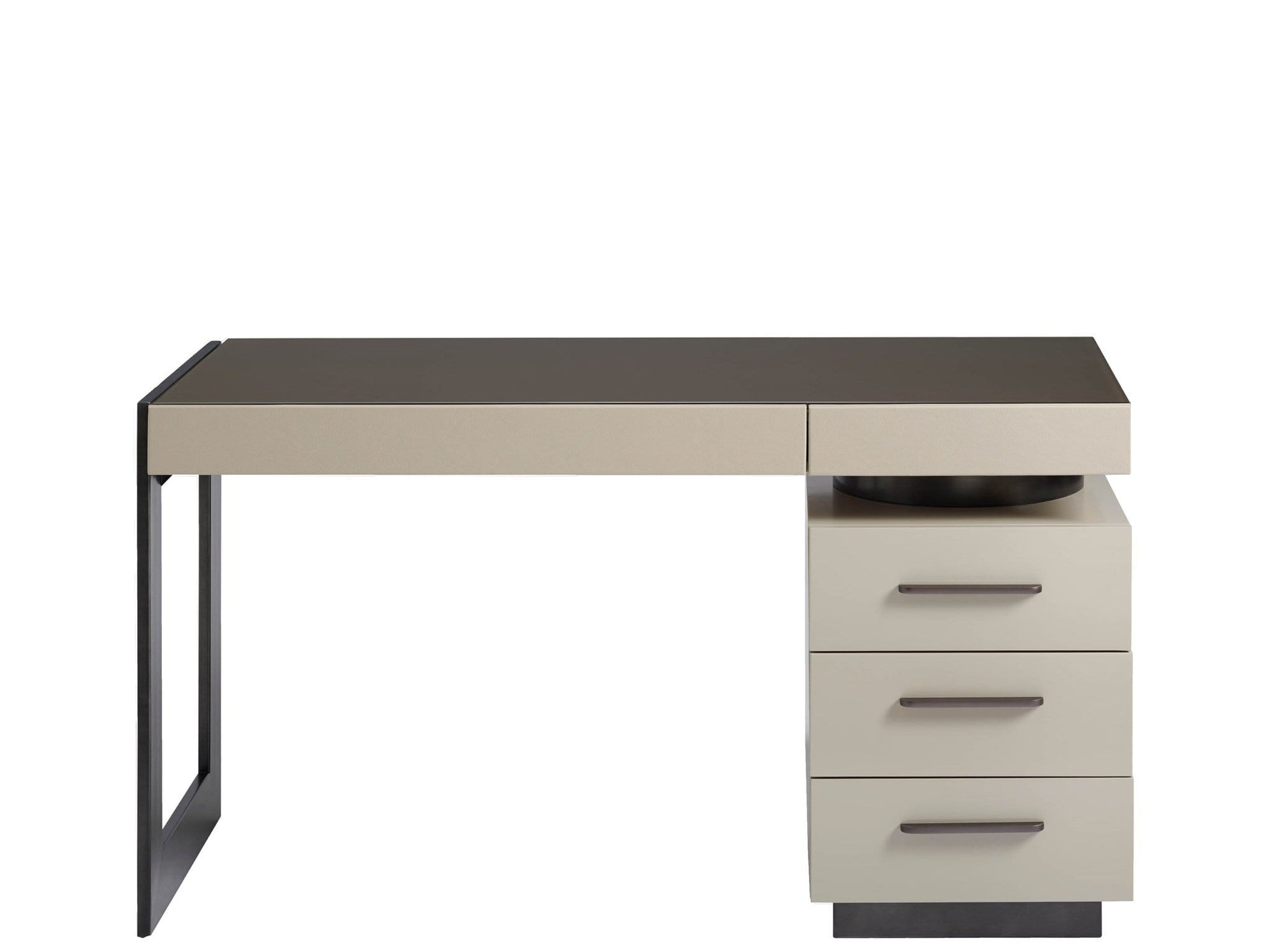 Alchemy Living Alchemy Living Urbain Amsterdam Writing Desk - Beige and Gray 807223
