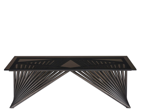Alchemy Living Alchemy Living Urbain Bangkok Cocktail Table - Silver and Black 807223