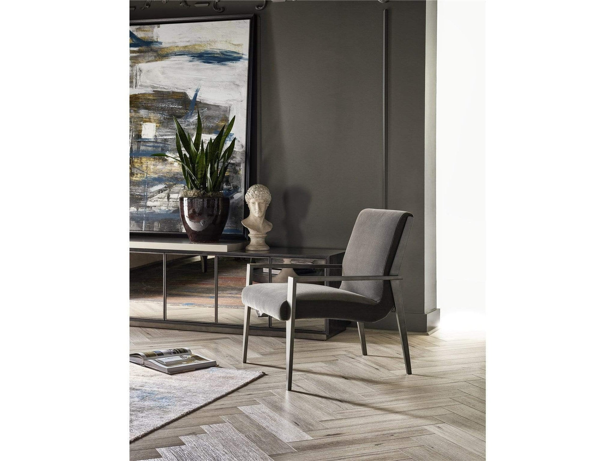 Alchemy Living Alchemy Living Urbain Florence Accent Chair - Gray 807223