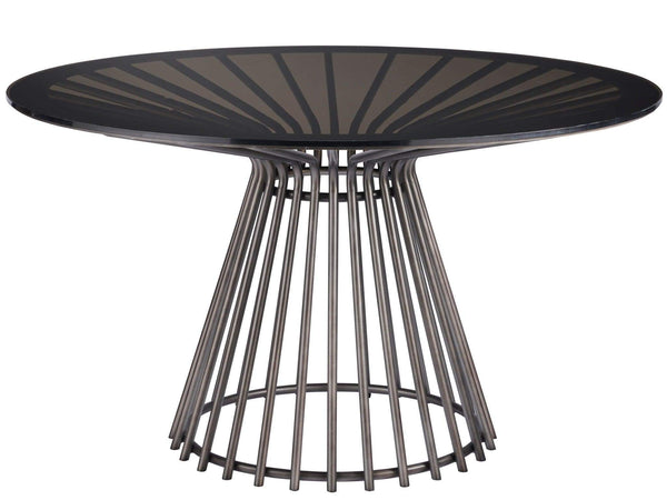 Alchemy Living Alchemy Living Urbain Lagos Dining Table  - Silver and Black 807223
