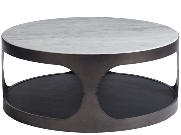 Alchemy Living Alchemy Living Urbain Seville Round Cocktail Table - Silver 807223