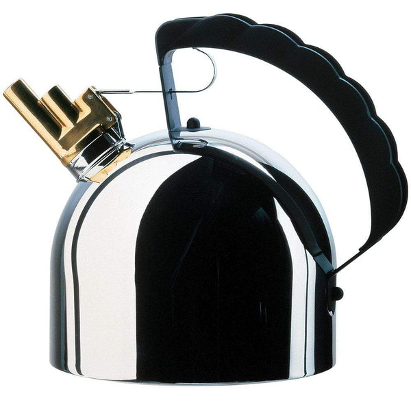 Alessi Alessi Kettle in Stainless Steel & Brass 9091 FM