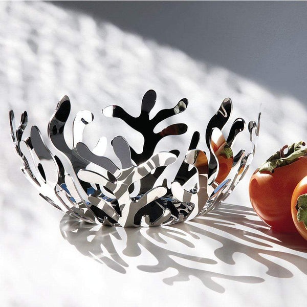 Alessi Alessi Mediterraneo Fruit Holder in Silver ESI01/21