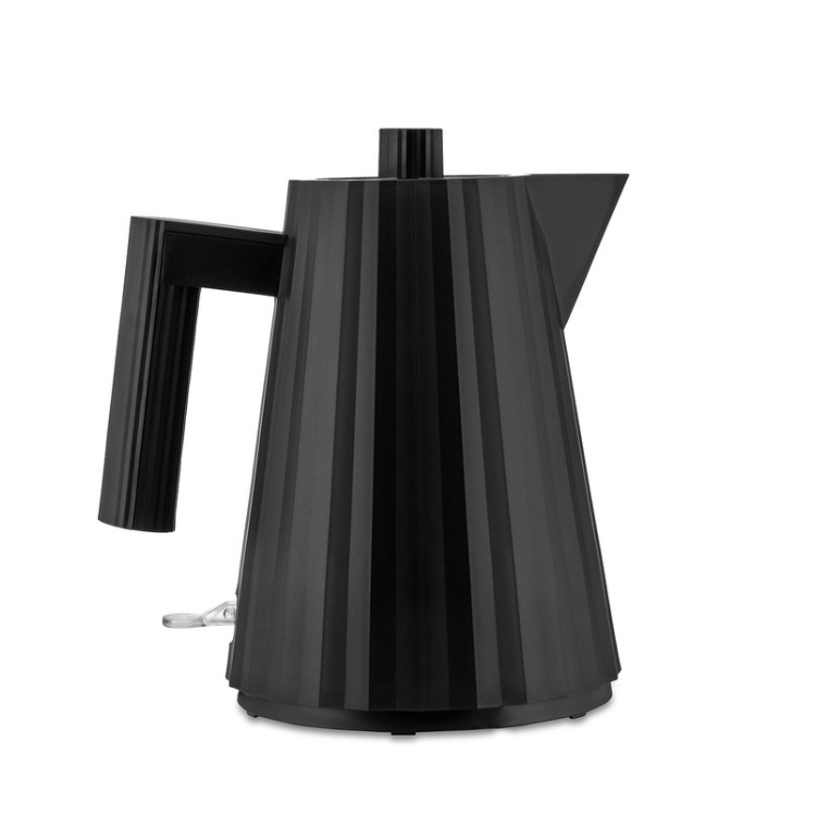 Alessi Alessi Plisse Electric Kettle Small - Black MDL06/1BUS