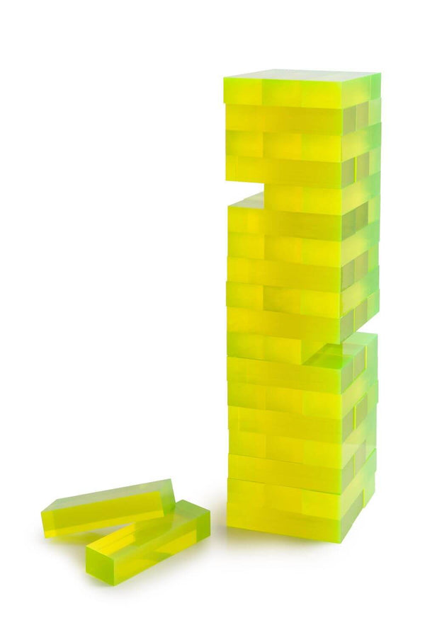 Aurosi Aurosi Neon Acrylic Yellow Tumble Tower 1662A