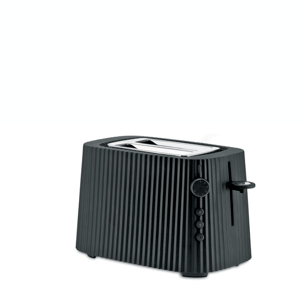 Alessi Alessi Plisse Toaster - Available in 4 Colors Black MDL08B/USA