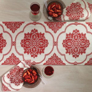 Bodrum Bodrum Corte Napkin - Red - Set of 4 CRT1110p4