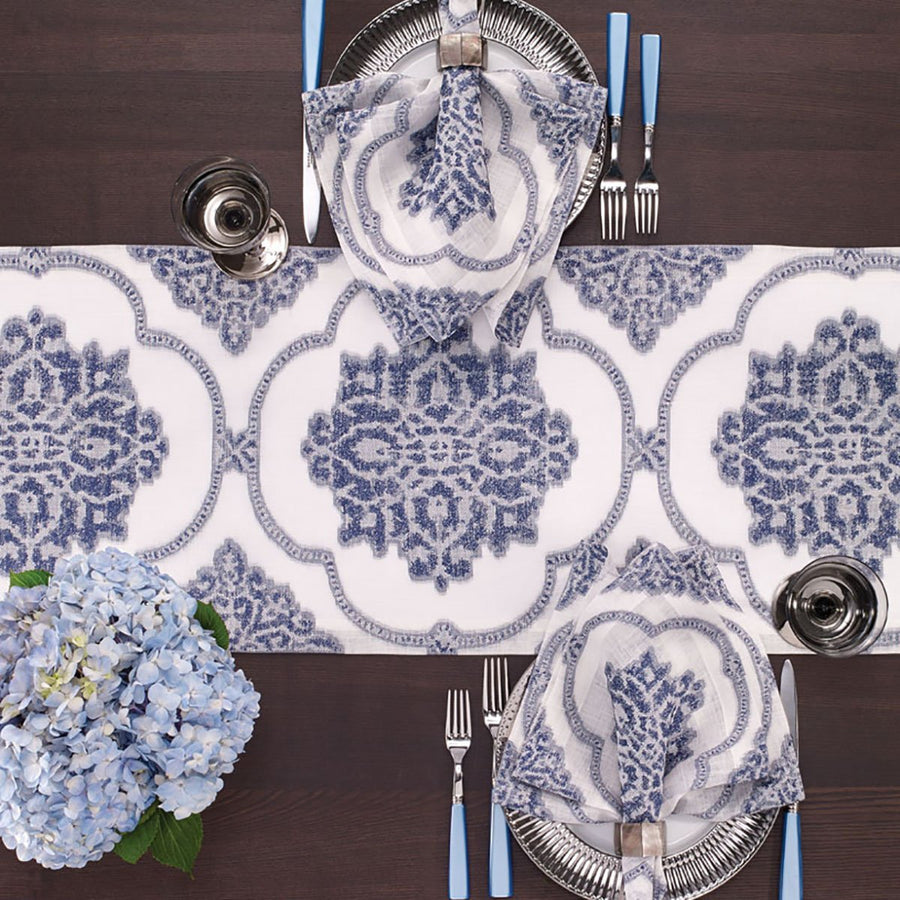 Bodrum Bodrum Corte Table Runner - Navy CRT0732