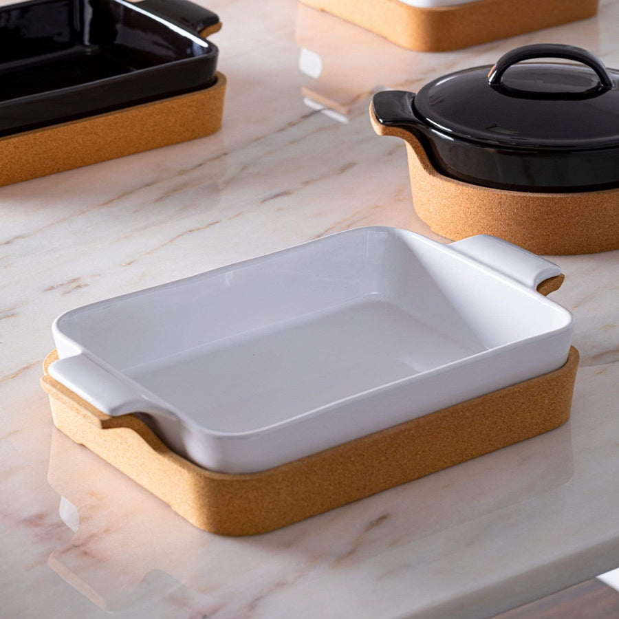 Casafina Casafina Ensemble Rectangle Baking Dish - White DR391-043