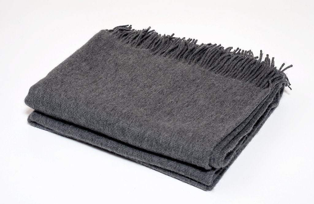 Harlow Henry Harlow Henry Cashmere Collection Throw - 2 Available Colors Smoke HHCAS03