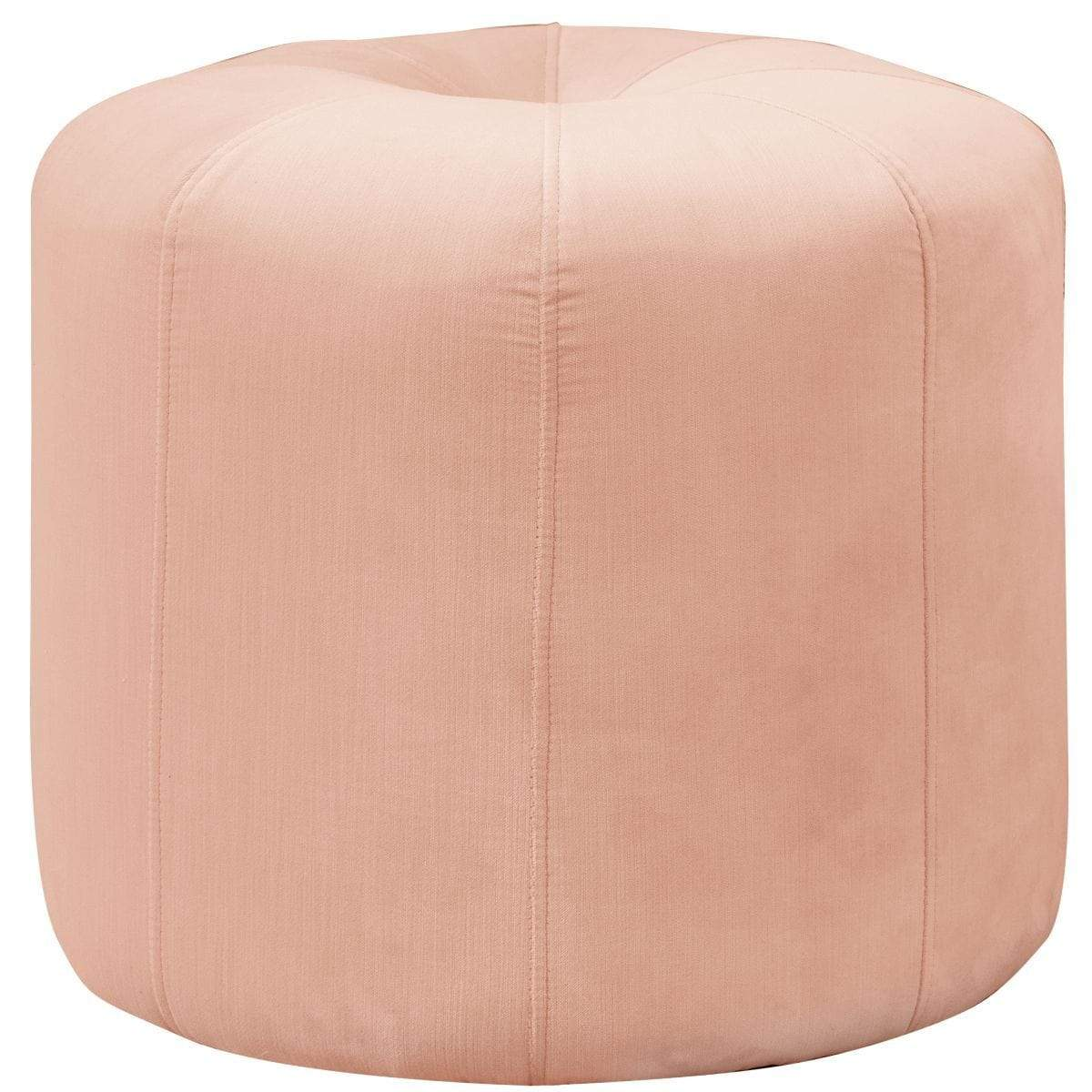 Cloth & Company Cloth & Company Isabelle Ottoman in Titan Pink Champagne COT1702TTNPNKCHMP