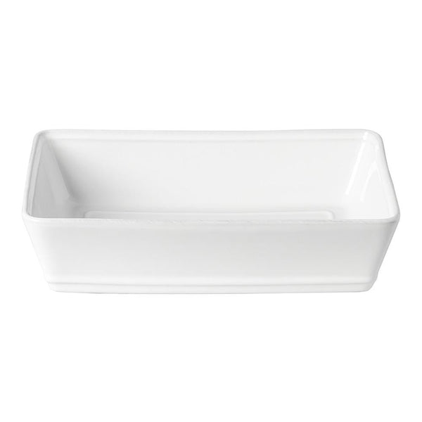 "Costa Nova Costa Nova Friso Rectangular Baking Dish 11.75"" - White FIR302-02202F"