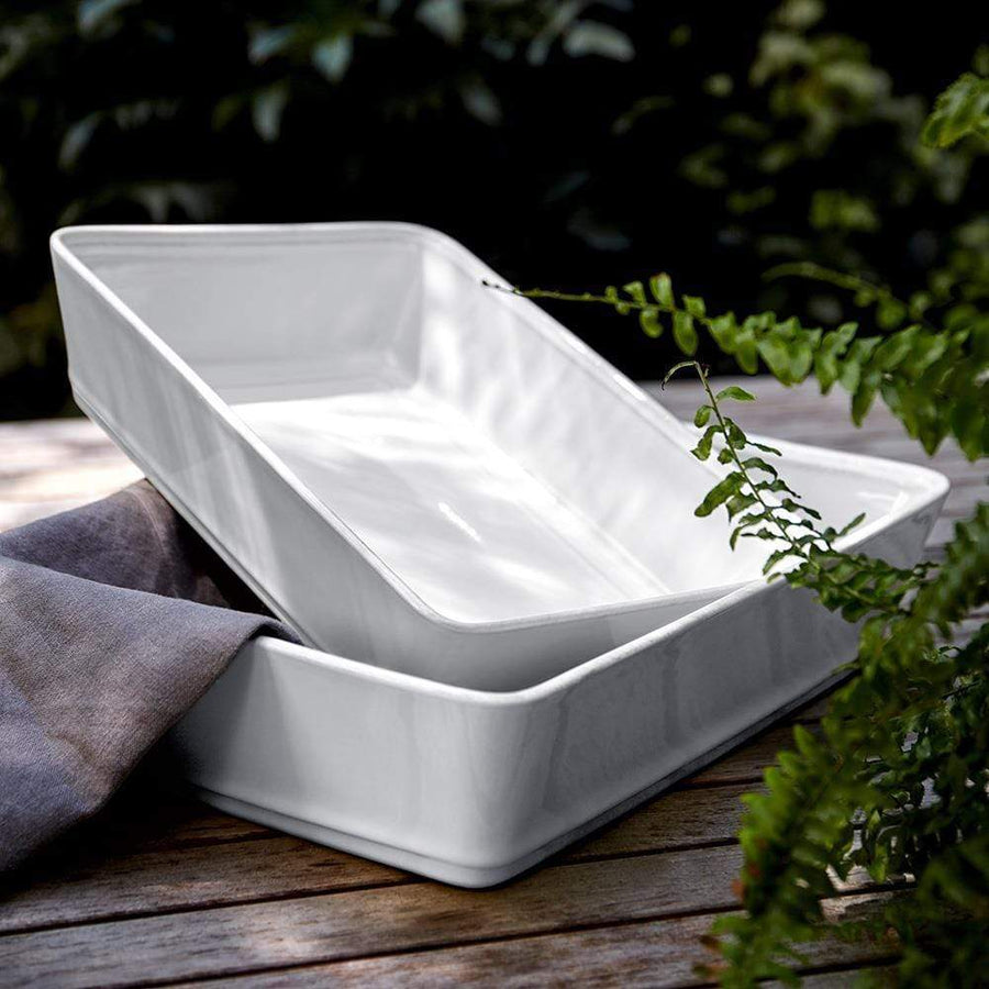 "Costa Nova Costa Nova Friso Rectangular Baking Dish 14.75"" - White FIR351-02202F"