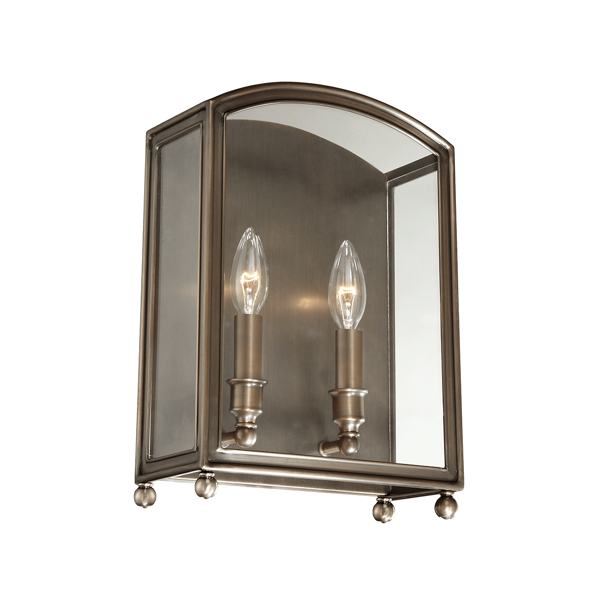 Hudson Valley Lighting Hudson Valley Lighting Millbrook 2-Bulb Sconce - Distressed Bronze & Clear 8402-DB