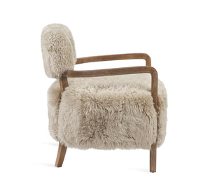 Interlude Home Interlude Home Royce Lounge Chair - Autumn Brown & Taupe 149064