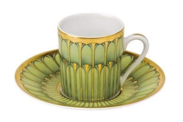 Deshoulieres Green Arcades Coffee Cup TC-RI6722