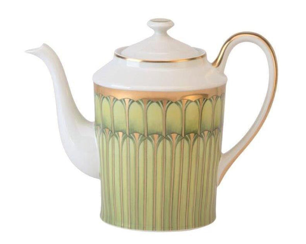 Deshoulieres Green Arcades Round Coffee Pot CAR-RI6722