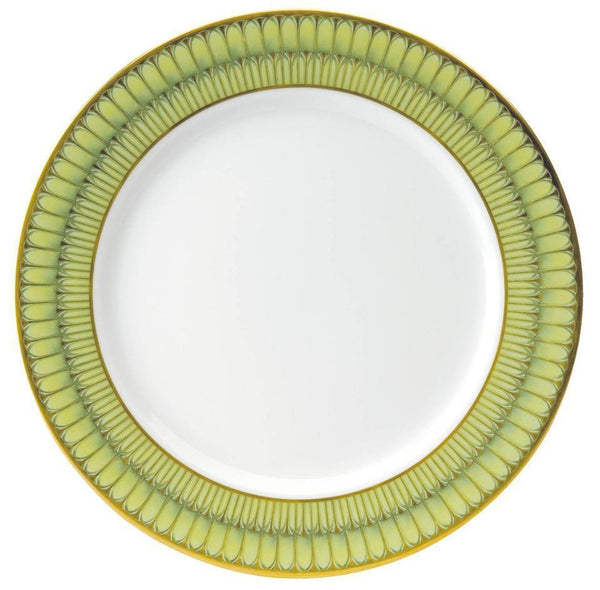 Deshoulieres Green Arcades Serving Plate APR-MZ6722